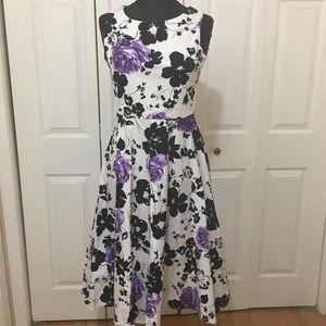 64c68d06f2c9 luouse. Louse Women's Vintage 1950s style Sleeveless dress